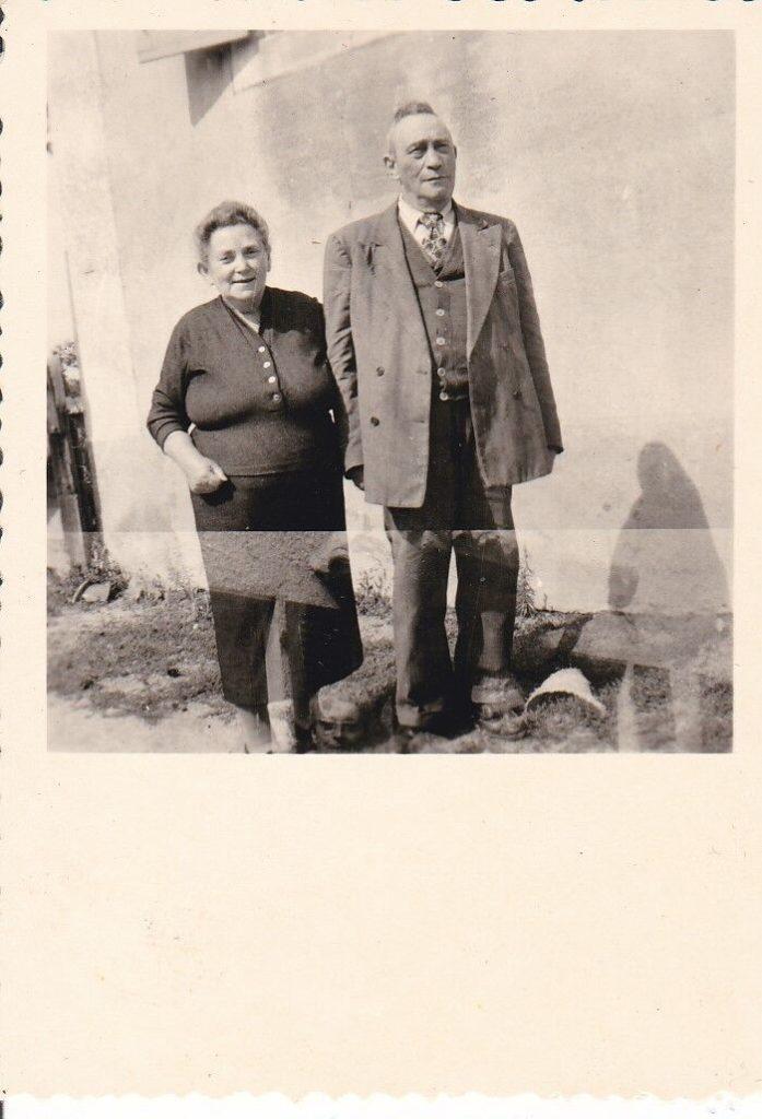Côté paternel. Mon Papou et ma grand-mère
